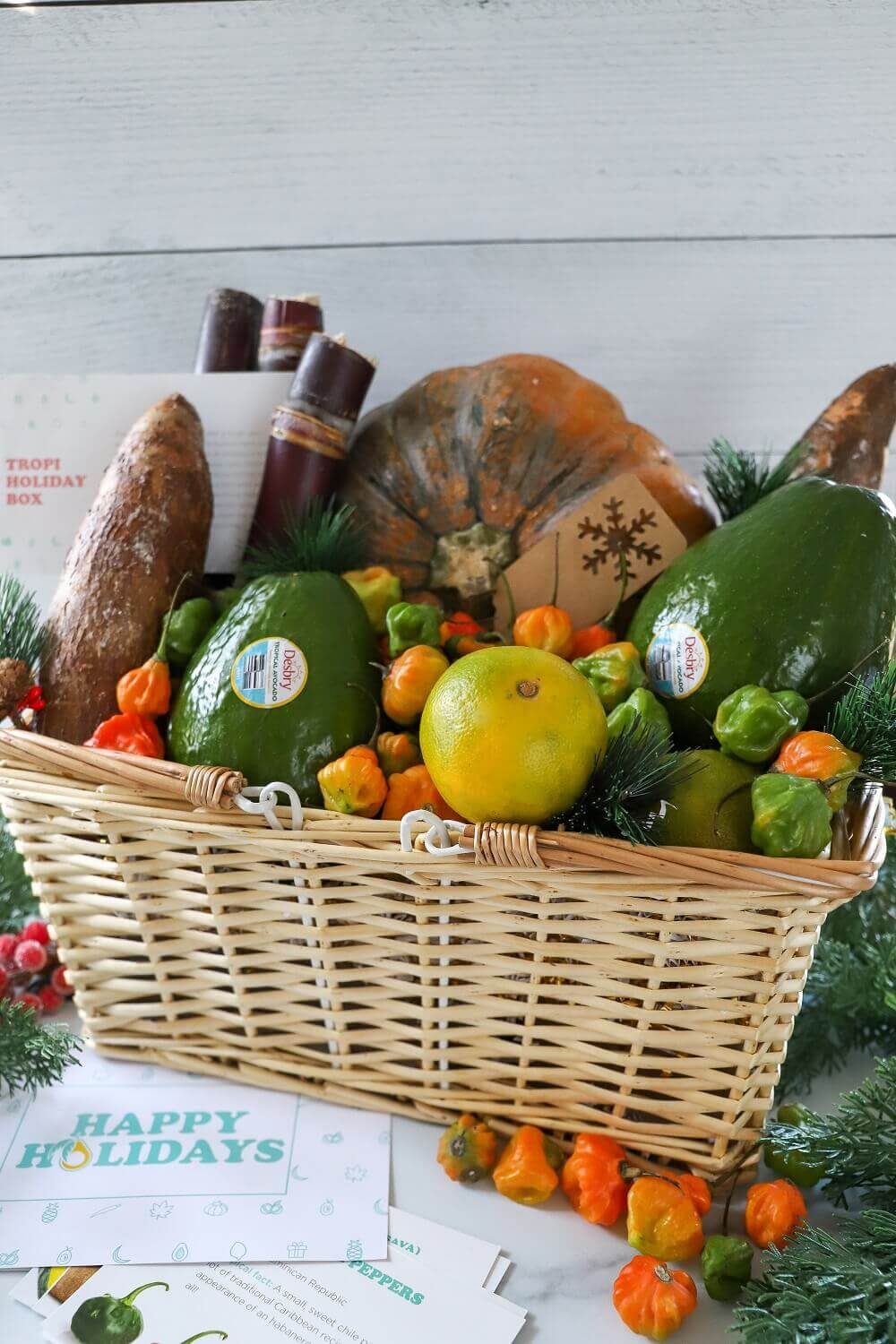 2020 Holiday Gift Guide: Tropical Fruit Basket