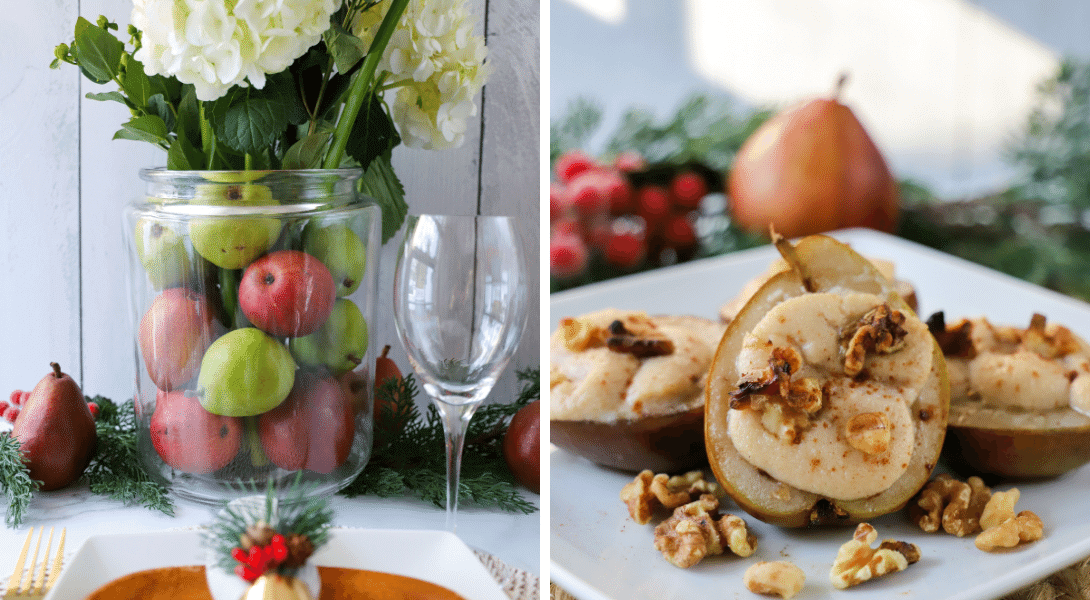 Green and Red Anjou Pears: A Festive Fruit to Celebrate the Holidays