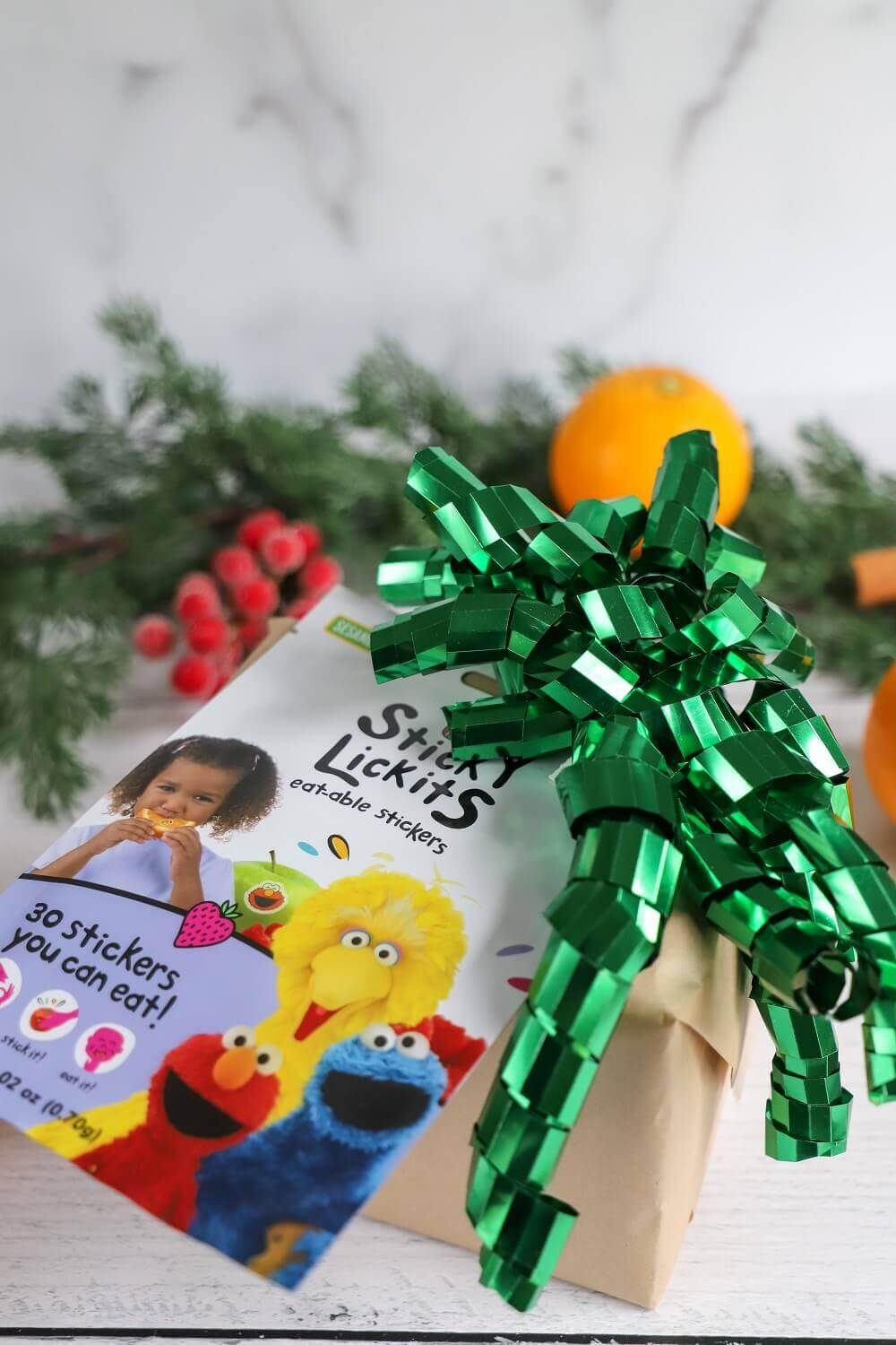 2020 Holiday Gift Guide: Sesame Street StickyLickits