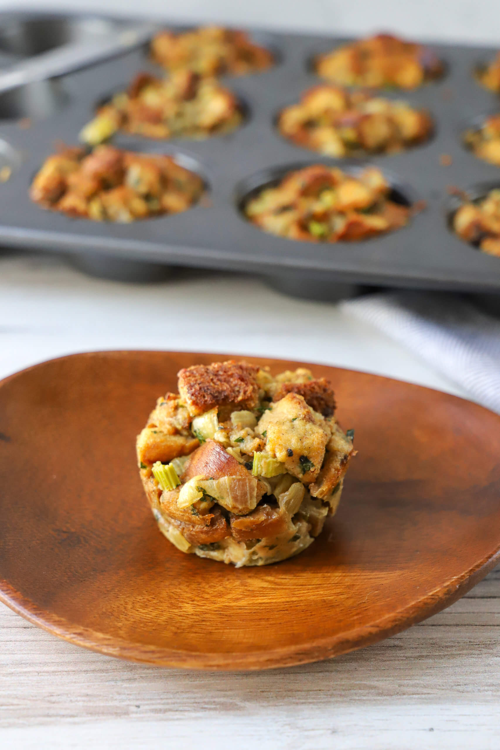 Must-Have Holiday Muffins: Stuffing Muffins