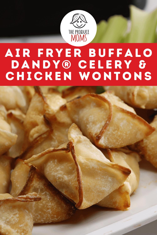 Air Fryer Buffalo Dandy® Celery & Chicken Wontons Instagram Card
