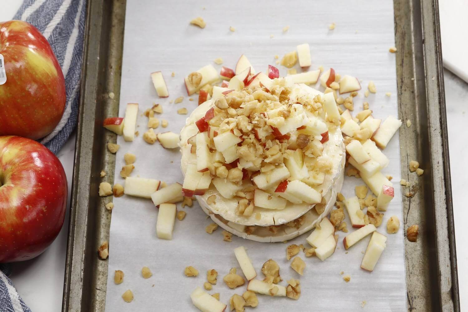 Oven-prepped SweeTango® Baked Brie
