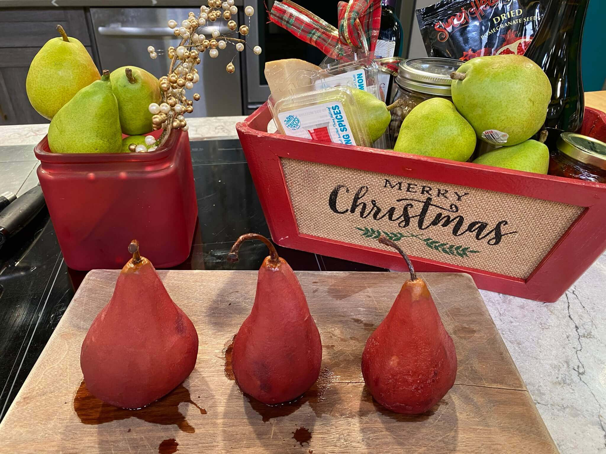 Pears are a great way to celebrate the holidays with fresh produce.