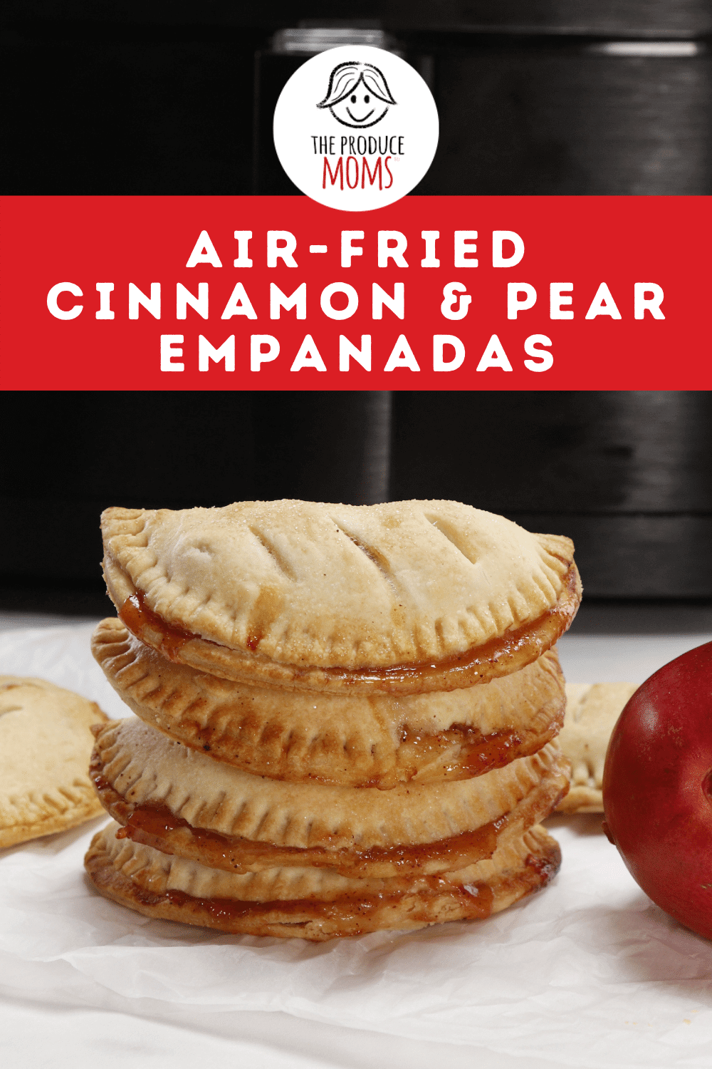 Sweet Cinnamon and Pear Empanadas