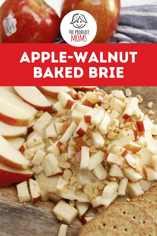 Apple-Walnut Baked Brie