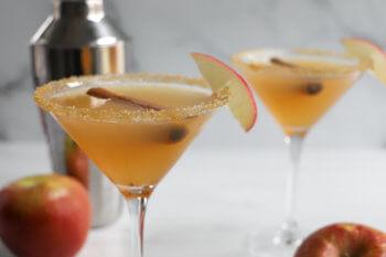 Fresh Apple Pie Martini