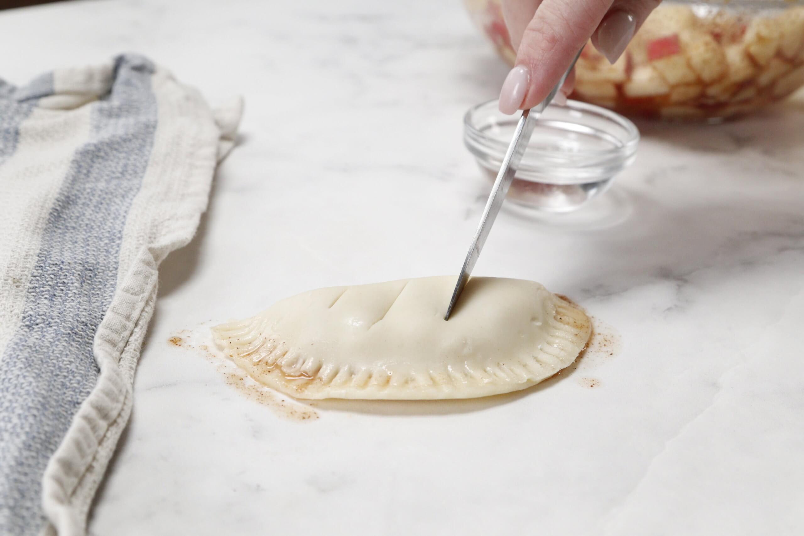 making air fryer empanadas