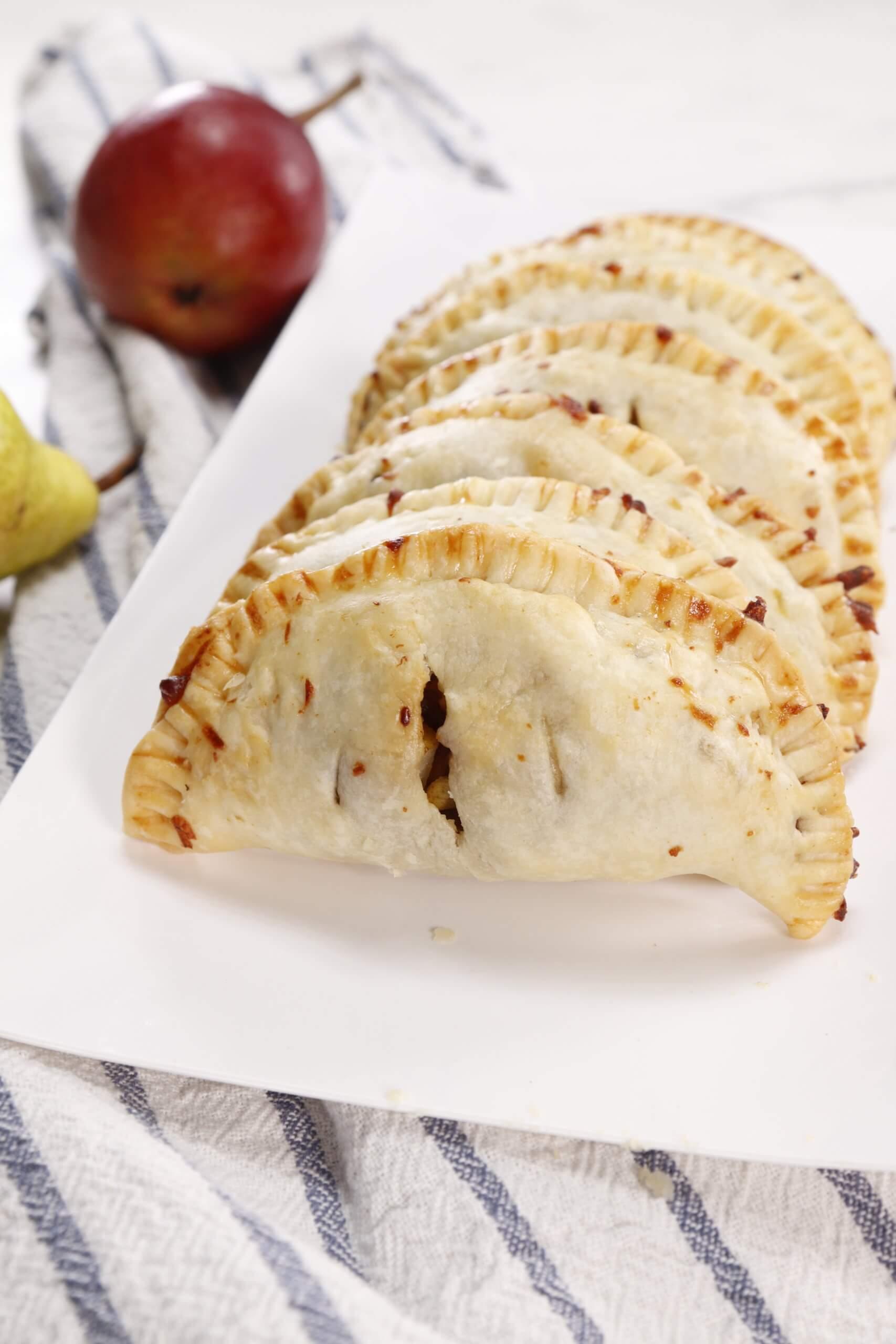 Sweet and Savory Pear Air Fryer Empanadas