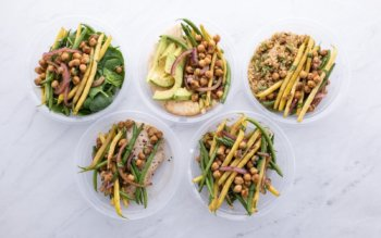 French Bean Refrigerator Salad Banner Image