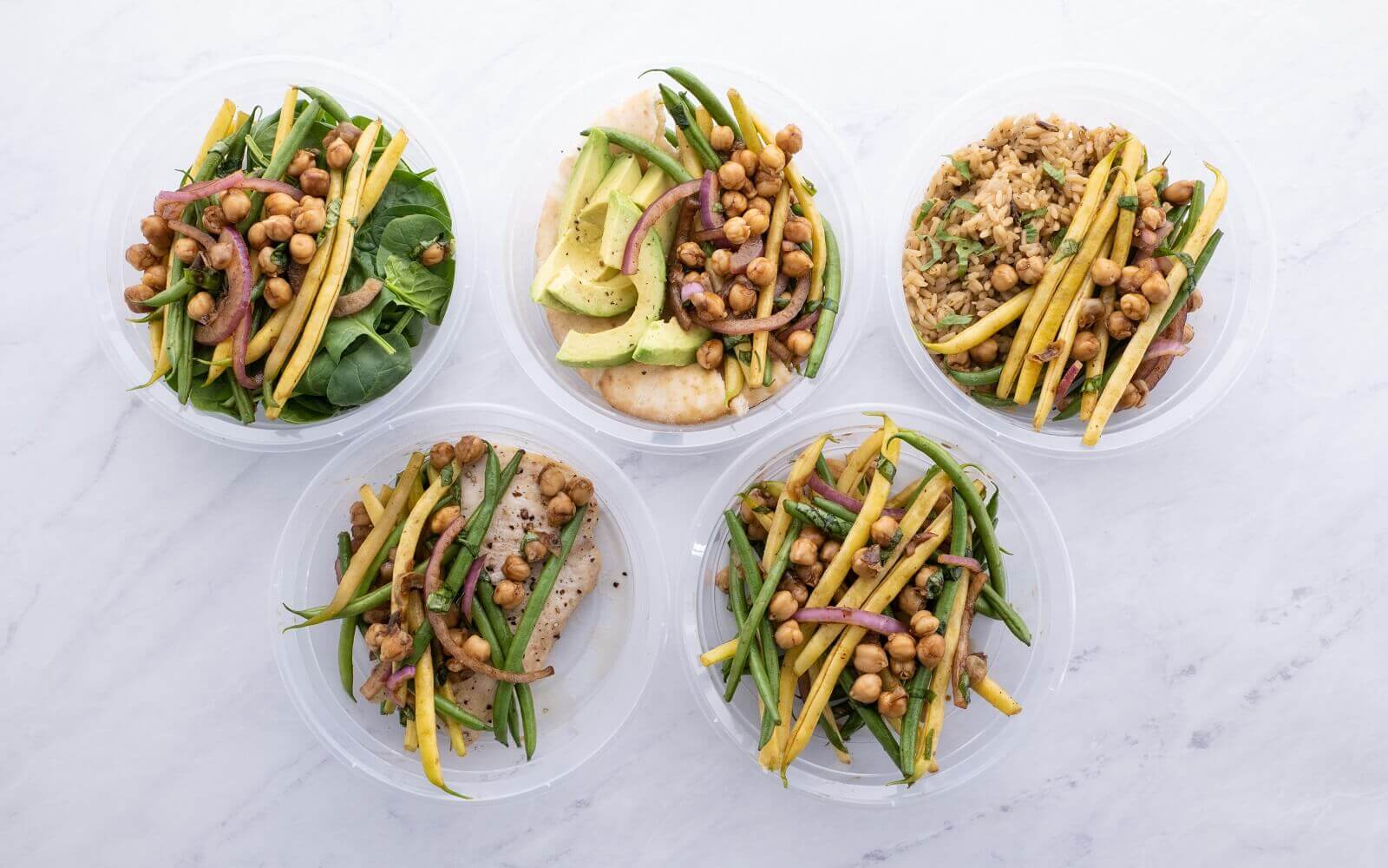 French Bean Refrigerator Salad