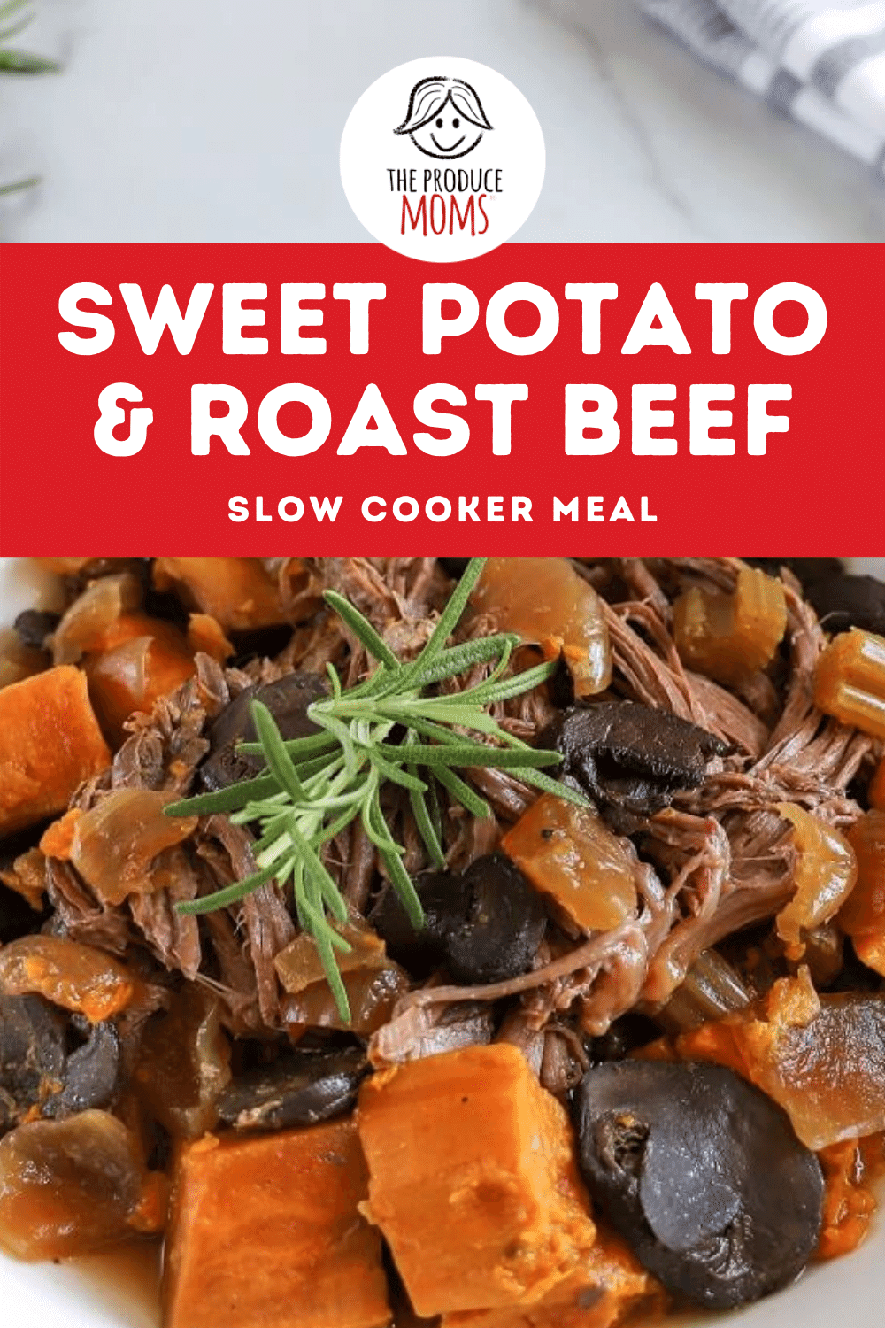 Sweet Potato and Roast Beef Slow Cooker Meal