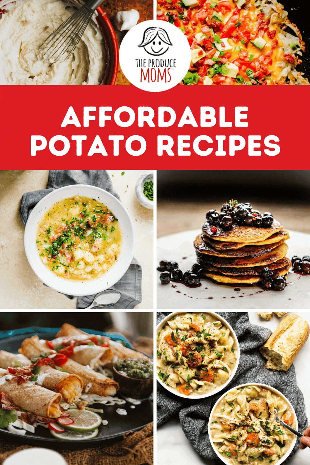 affordable potato recipes pin