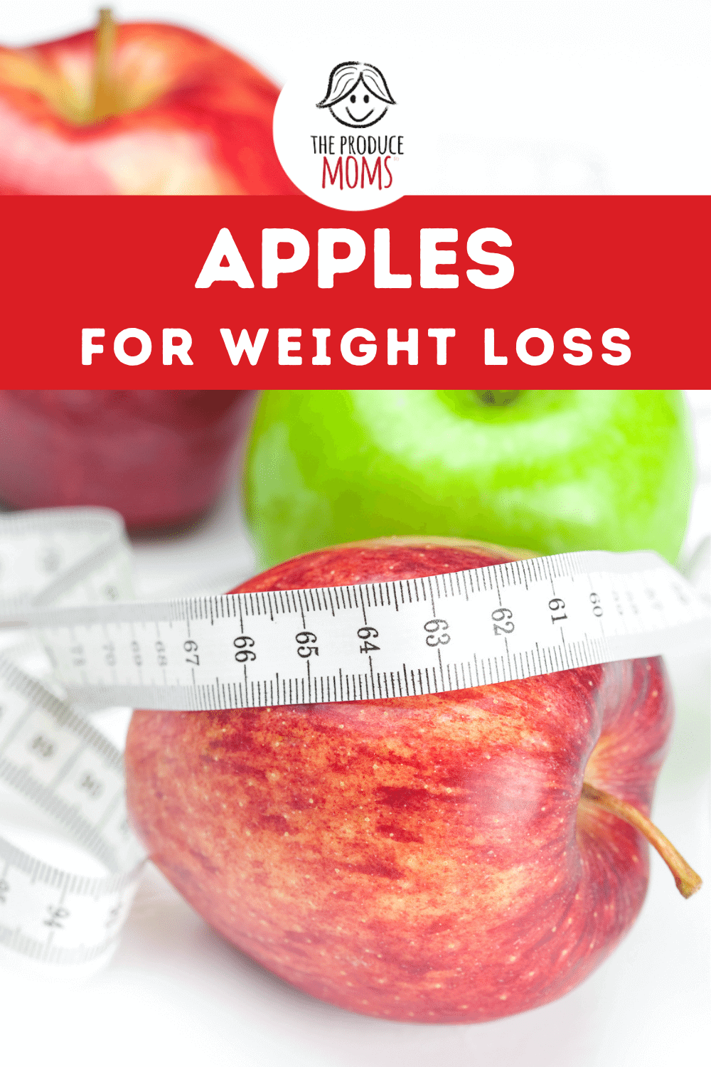 Apples for Weight Loss Pin