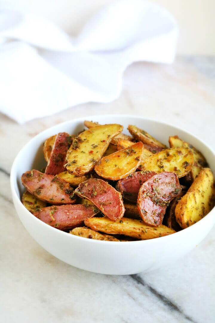 Brown Butter Herb Roasted Fingerlings