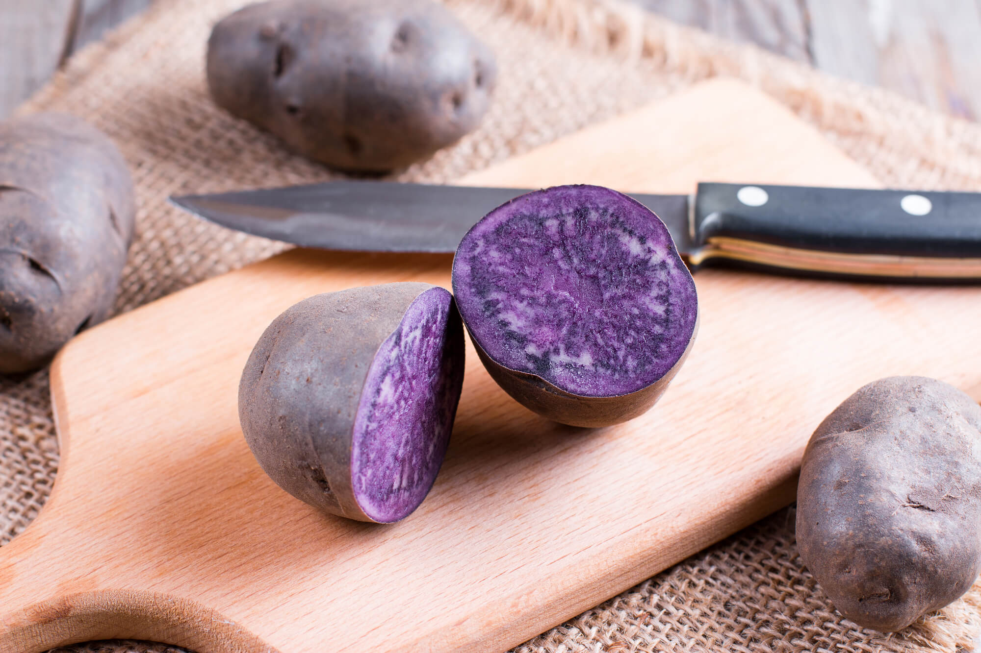21 Must-Try Produce Items in 2021: Purple Potatoes