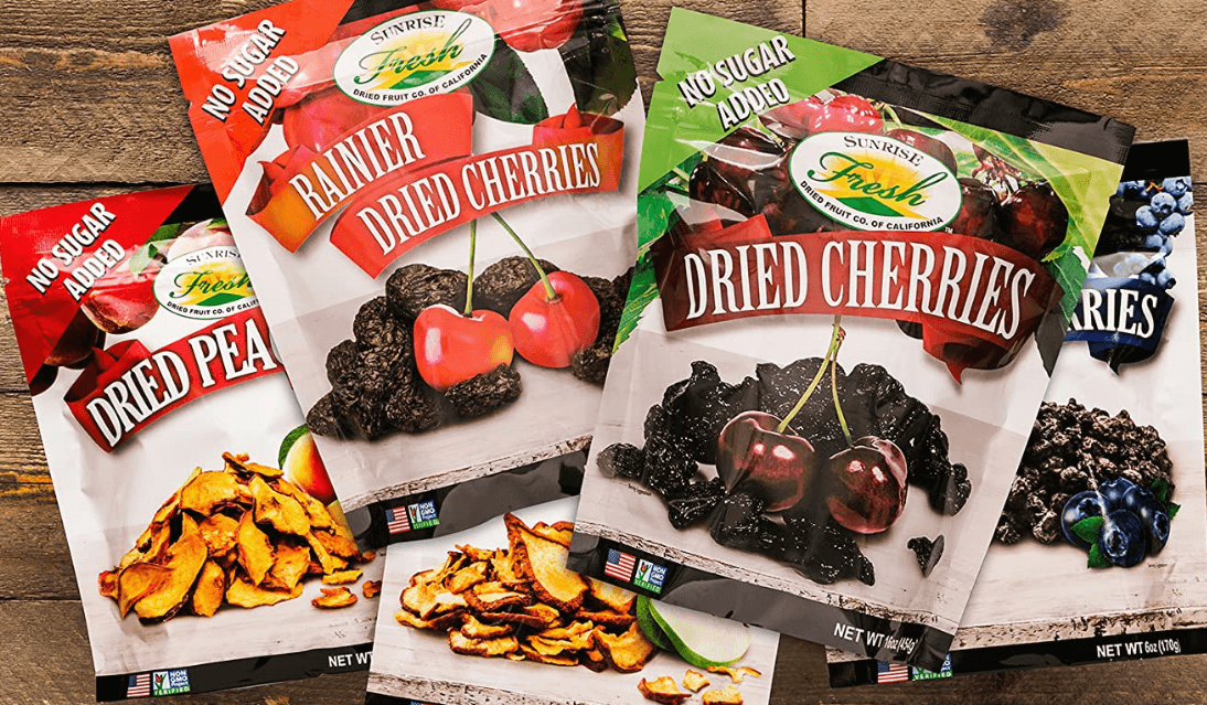 21 Must-Try Produce Items in 2021: Sunrise Fresh Dried Fruit