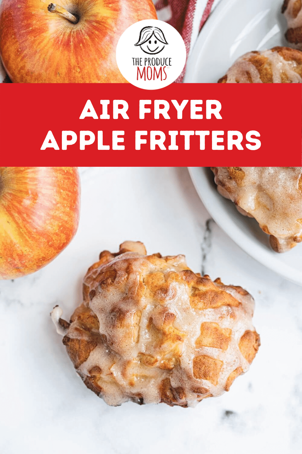 Air Fryer Apple Fritters Pin