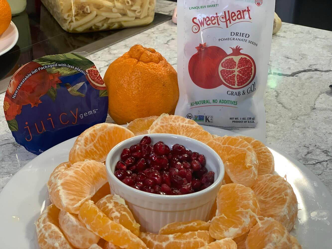 Big Honeys® and SweetHeart Dried Pomegranate Seeds