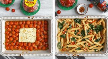 TikTok-Inspired Baked Feta Pasta
