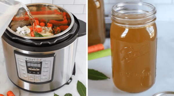 Instant Pot Chicken Stock (plus how to make it without an Instant Pot)