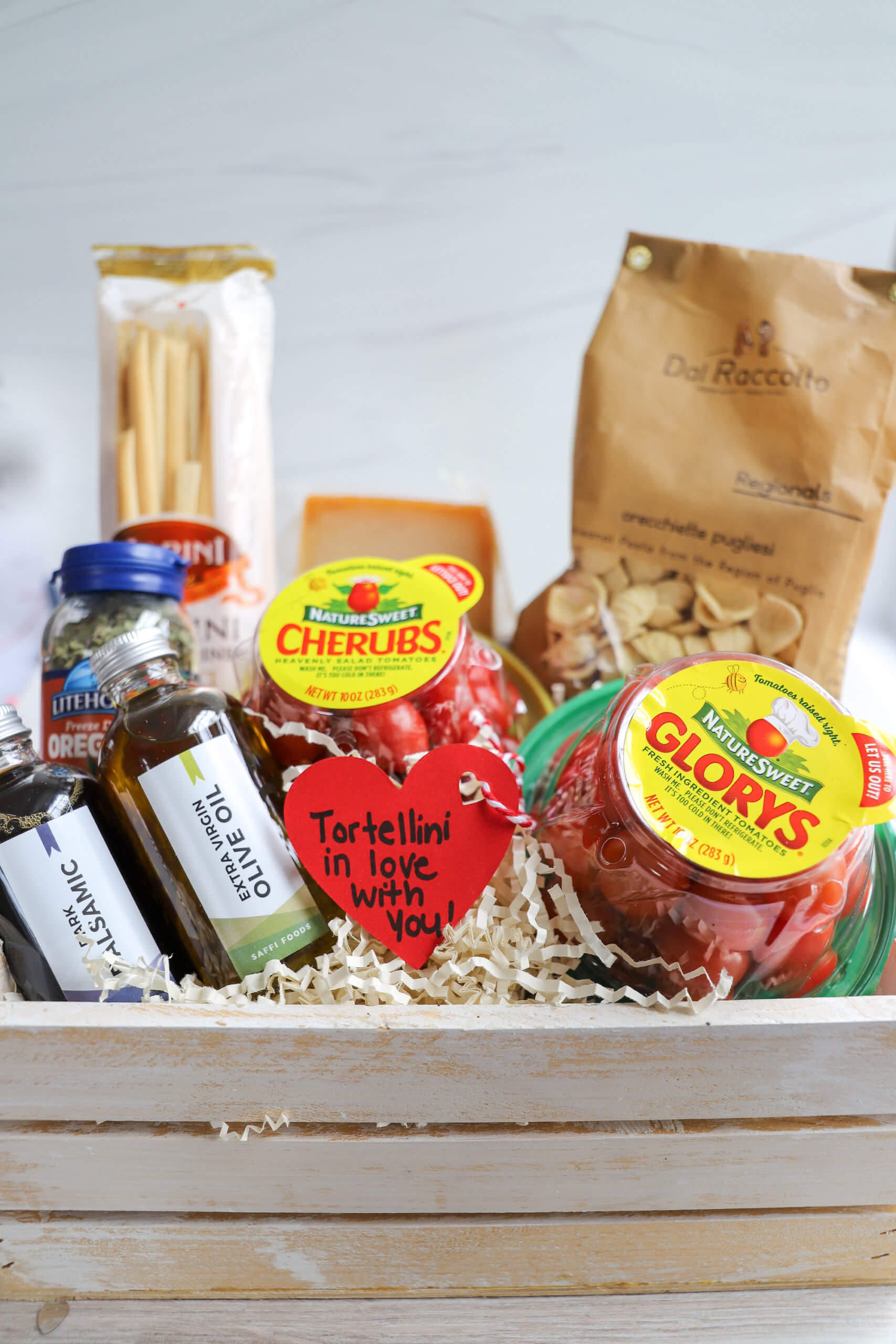 Pasta Gift Basket featuring NatureSweet Tomatoes