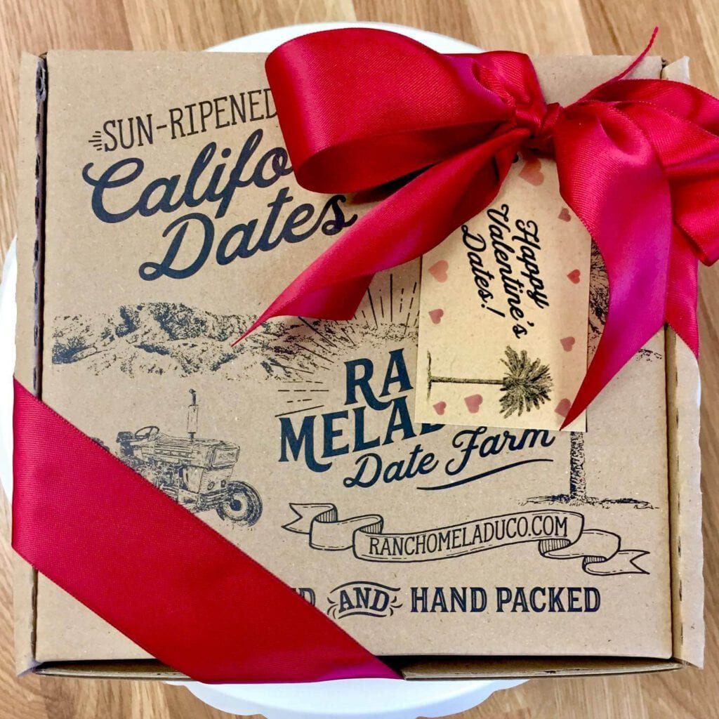 Rancho Meladuco Dates make the perfect valentine's day gift!