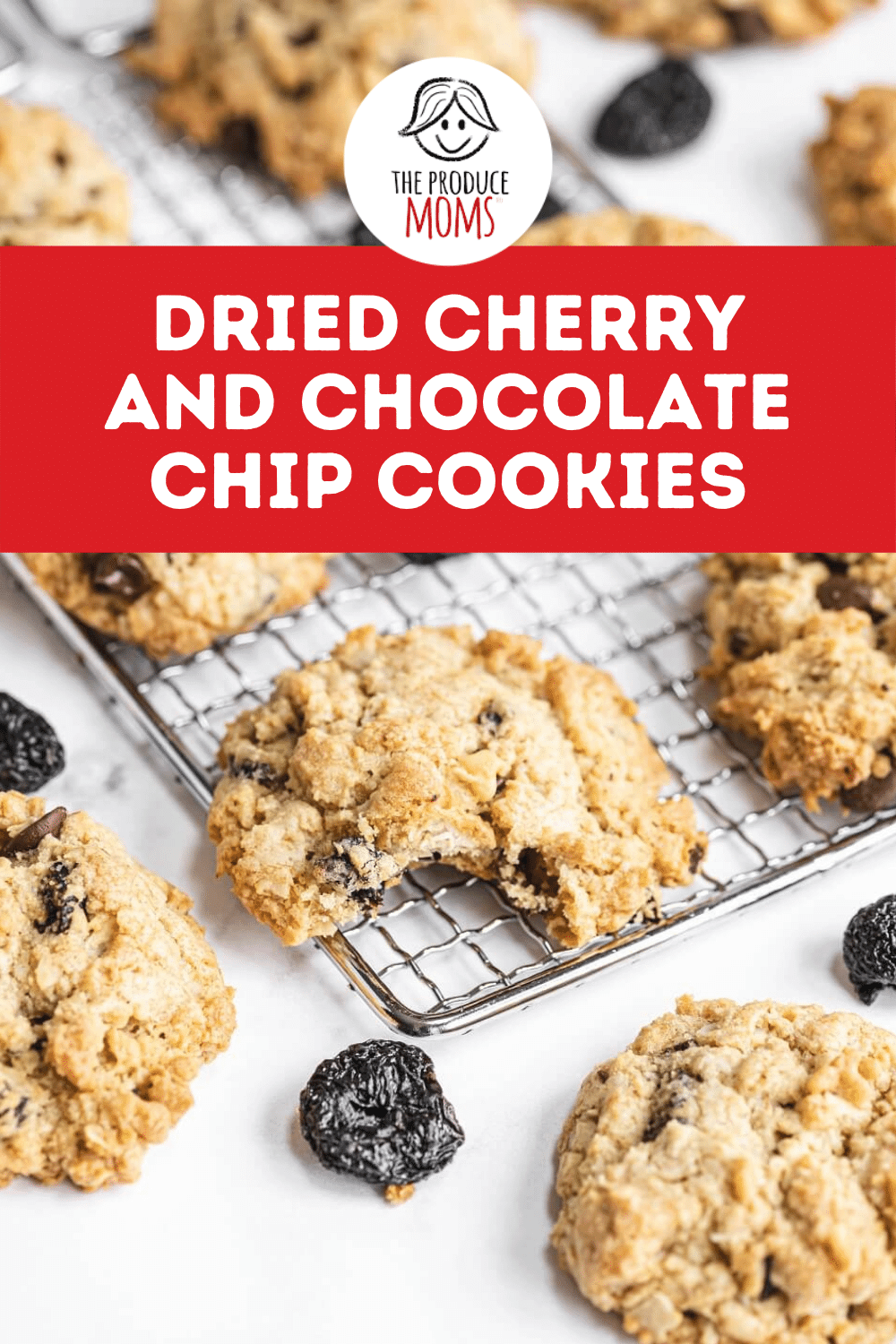 Dried Cherry and Chocolate Chip Cookies