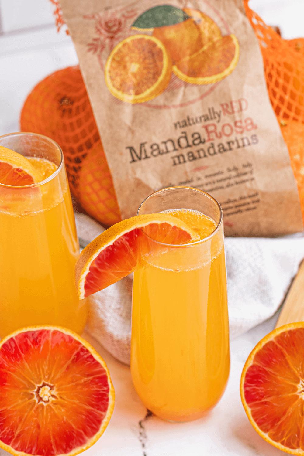 MandaRosa Mandarin Mimosa
