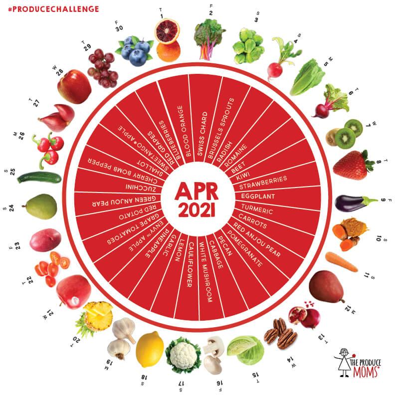 April 2021 Produce Challenge