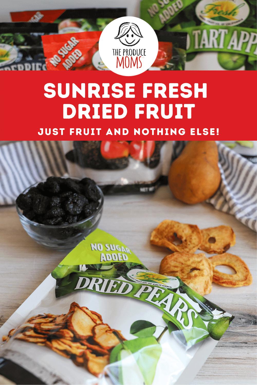 Sunrise Fresh dried fruit pin