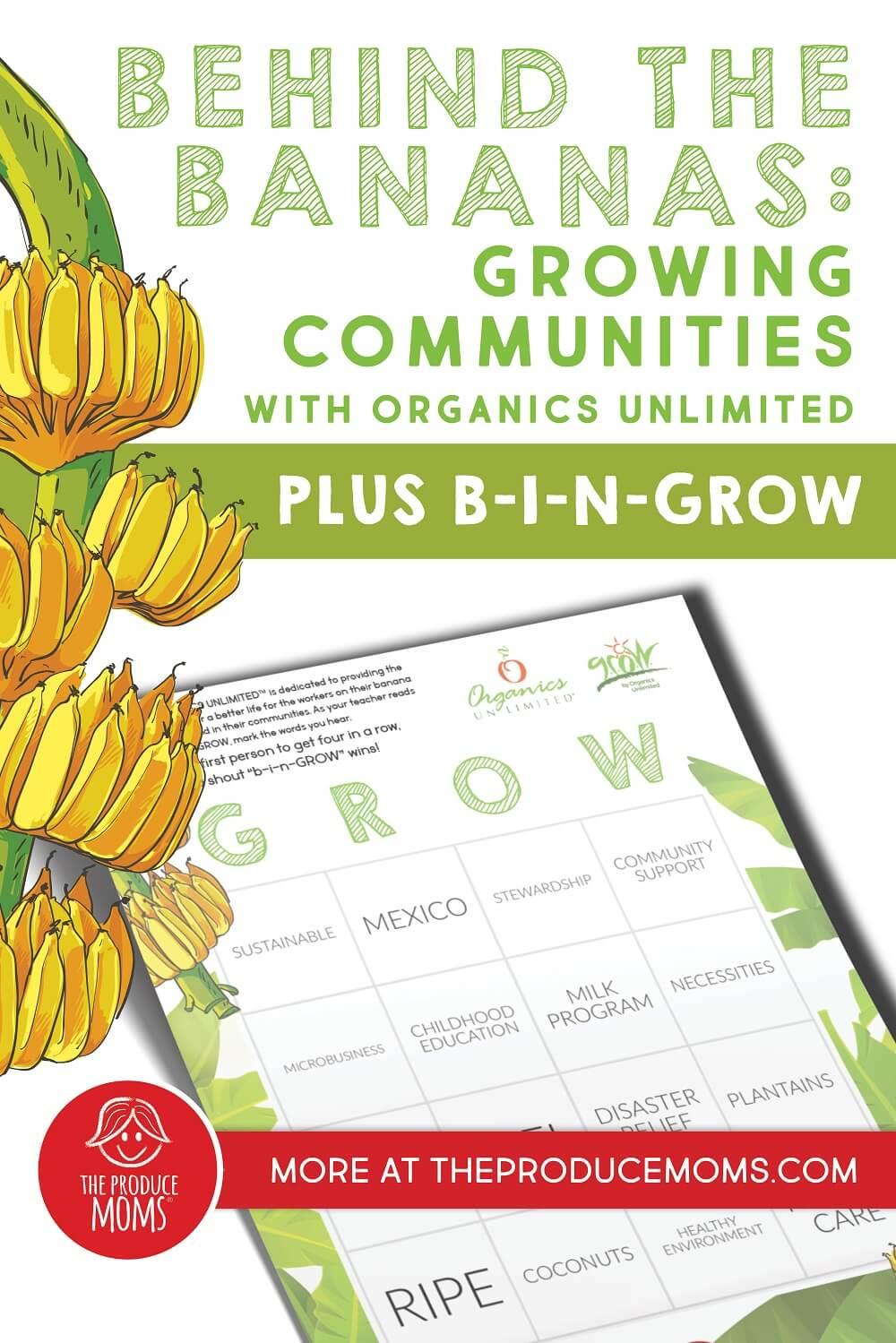 Organics Unlimited Pin